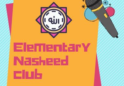 Nasheed Club (Grades K-5) - October 2021