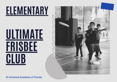 Ultimate Frisbee (Grades 3-5) - October 2021