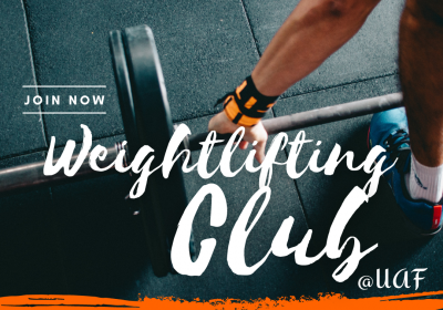 Weightlifting Club (Grades 9-12) - October 2021
