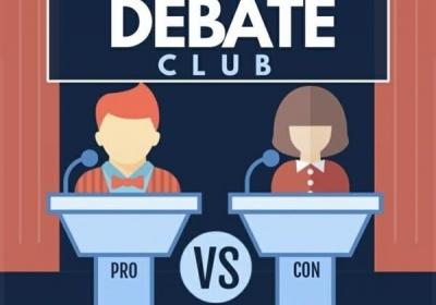 Debate Club (Grades 3-5) - October 2021